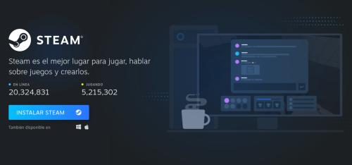 Descargar Steam