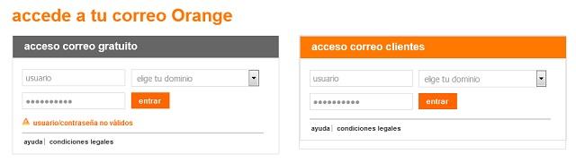 Correo Orange